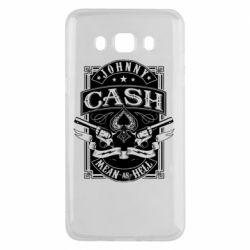 Чохол для Samsung J5 2016 Johnny cash mean as hell