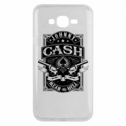 Чохол для Samsung J7 2015 Johnny cash mean as hell