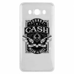 Чохол для Samsung J7 2016 Johnny cash mean as hell