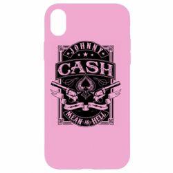 Чохол для iPhone XR Johnny cash mean as hell
