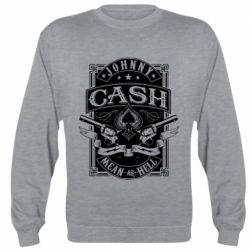 Реглан (світшот) Johnny cash mean as hell