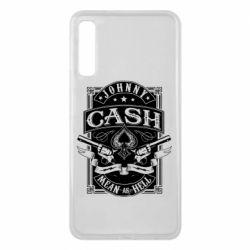 Чохол для Samsung A7 2018 Johnny cash mean as hell