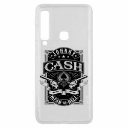 Чохол для Samsung A9 2018 Johnny cash mean as hell