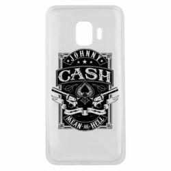 Чохол для Samsung J2 Core Johnny cash mean as hell