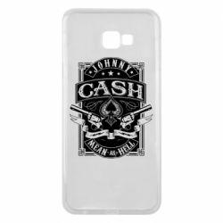 Чохол для Samsung J4 Plus 2018 Johnny cash mean as hell