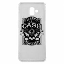 Чохол для Samsung J6 Plus 2018 Johnny cash mean as hell
