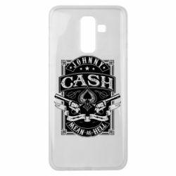 Чохол для Samsung J8 2018 Johnny cash mean as hell