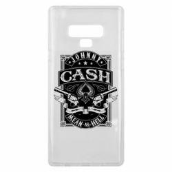 Чохол для Samsung Note 9 Johnny cash mean as hell
