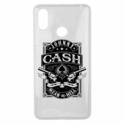 Чохол для Xiaomi Mi Max 3 Johnny cash mean as hell