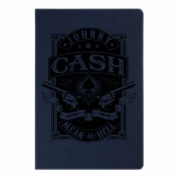 Блокнот А5 Johnny cash mean as hell