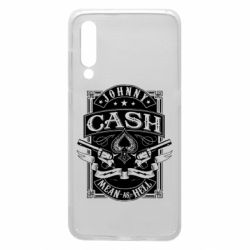 Чохол для Xiaomi Mi9 Johnny cash mean as hell