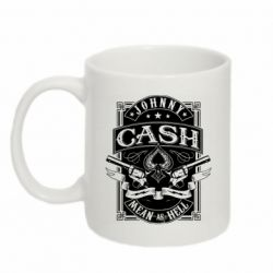 Кружка 320ml Johnny cash mean as hell