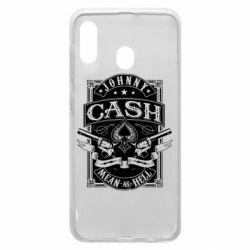 Чохол для Samsung A30 Johnny cash mean as hell
