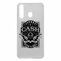 Чохол для Samsung A60 Johnny cash mean as hell