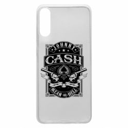 Чохол для Samsung A70 Johnny cash mean as hell