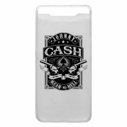 Чохол для Samsung A80 Johnny cash mean as hell