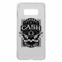 Чохол для Samsung S10e Johnny cash mean as hell