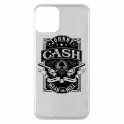 Чохол для iPhone 11 Johnny cash mean as hell