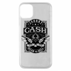 Чохол для iPhone 11 Pro Johnny cash mean as hell