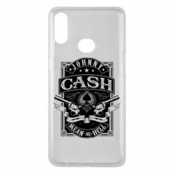 Чохол для Samsung A10s Johnny cash mean as hell