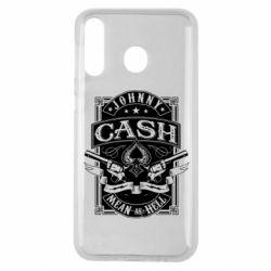 Чохол для Samsung M30 Johnny cash mean as hell