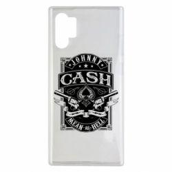 Чохол для Samsung Note 10 Plus Johnny cash mean as hell