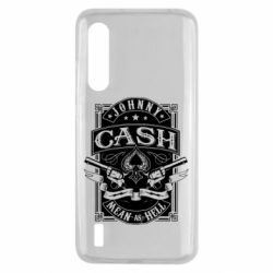 Чохол для Xiaomi Mi9 Lite Johnny cash mean as hell