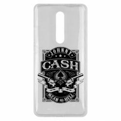 Чохол для Xiaomi Mi9T Johnny cash mean as hell