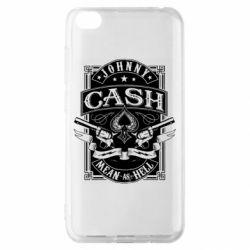 Чохол для Xiaomi Redmi Go Johnny cash mean as hell