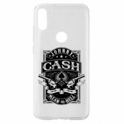 Чохол для Xiaomi Mi Play Johnny cash mean as hell