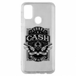 Чохол для Samsung M30s Johnny cash mean as hell