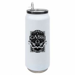 Термобанка 500ml Johnny cash mean as hell