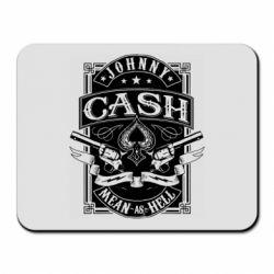 Килимок для миші Johnny cash mean as hell