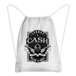 Рюкзак-мішок Johnny cash mean as hell