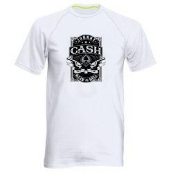 Чоловіча спортивна футболка Johnny cash mean as hell