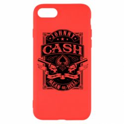 Чохол для iPhone 7 Johnny cash mean as hell