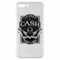 Чохол для iPhone 7 Plus Johnny cash mean as hell