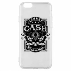 Чохол для iPhone 6/6S Johnny cash mean as hell