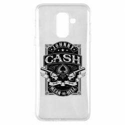 Чохол для Samsung A6+ 2018 Johnny cash mean as hell