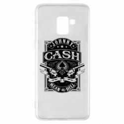 Чохол для Samsung A8+ 2018 Johnny cash mean as hell