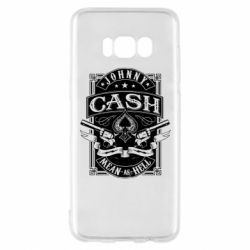 Чохол для Samsung S8 Johnny cash mean as hell