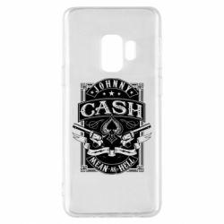 Чохол для Samsung S9 Johnny cash mean as hell
