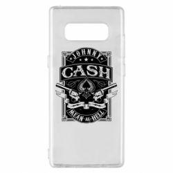 Чохол для Samsung Note 8 Johnny cash mean as hell