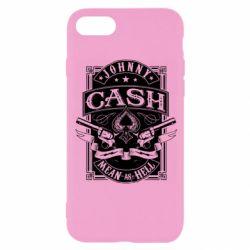 Чохол для iPhone 8 Johnny cash mean as hell