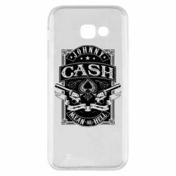 Чохол для Samsung A5 2017 Johnny cash mean as hell