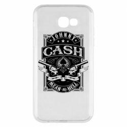 Чохол для Samsung A7 2017 Johnny cash mean as hell