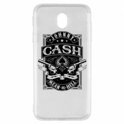 Чохол для Samsung J7 2017 Johnny cash mean as hell