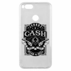 Чохол для Xiaomi Mi A1 Johnny cash mean as hell