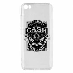 Чохол для Xiaomi Mi5/Mi5 Pro Johnny cash mean as hell