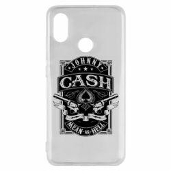 Чохол для Xiaomi Mi8 Johnny cash mean as hell